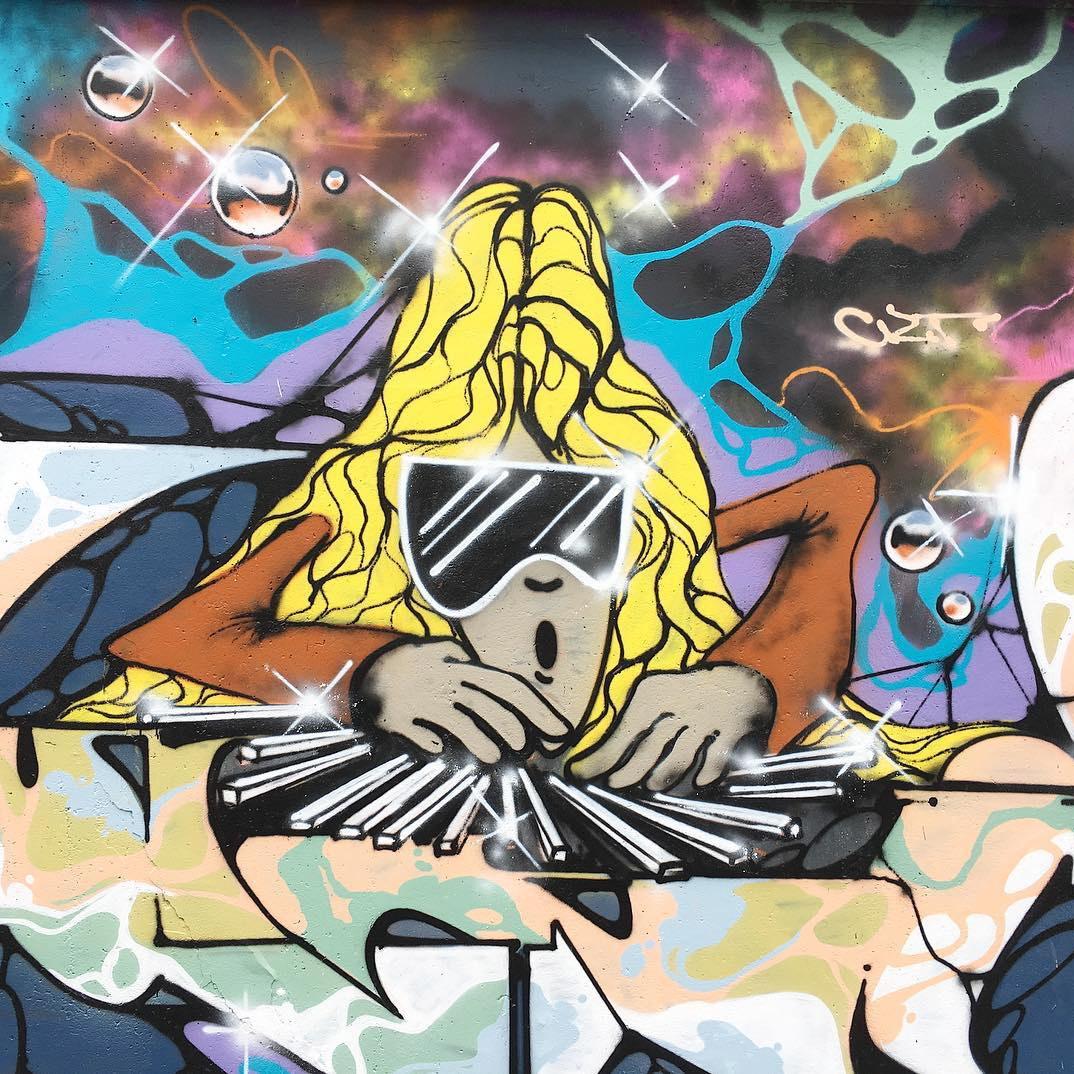 No art like graffiti art. Details are everything.  Love this one @koolfunc88