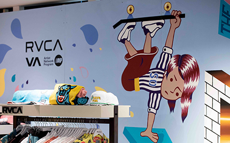 Pop-Up Store RVCA x CITADIUM PARIS